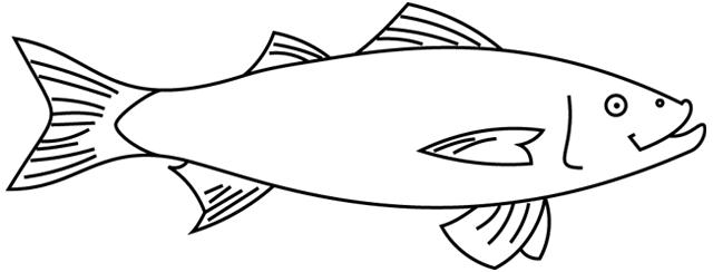 coloriage imprimer un poisson