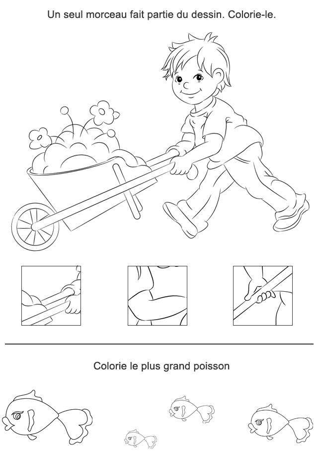 Jeux à imprimer, puzzle. Fiche 12 - Turbulus, jeux pour enfants