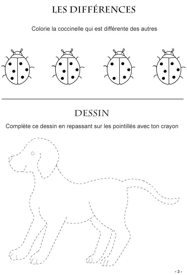 Jeux � imprimer pour enfants de 3-4 ans, page3 - Turbulus