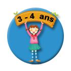 Jeu à imprimer pour enfants de 3 - 4 ans