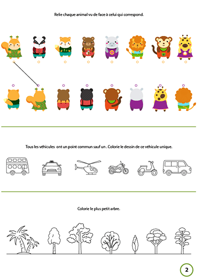 Cahier Gratuit A Imprimer Maternelle Turbulus Jeux Pour Enfants