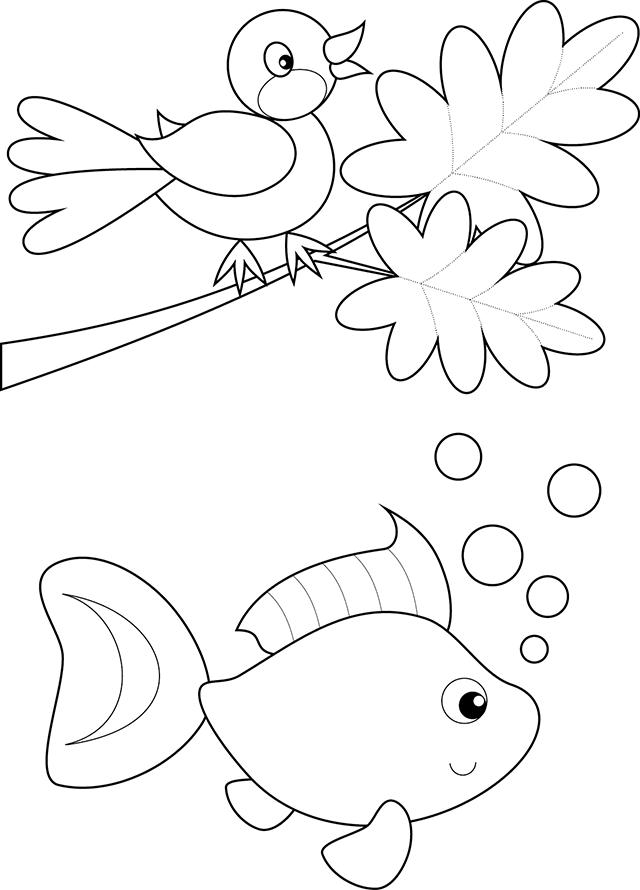 Coloriages imprimer pour les tout petits turbulus jeux pour enfants - Coloriage tout petit ...