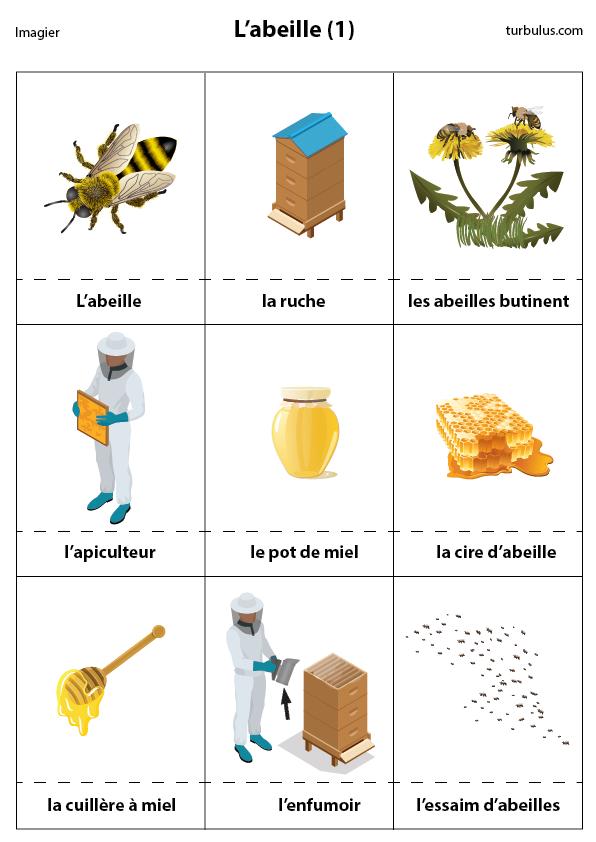 Imagier les abeilles turbulus jeux pour enfants - Comment faire fuire les abeilles ...