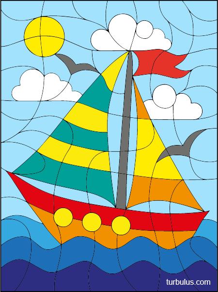 Coloriage Magique Formes Et Couleurs Turbulus Jeux Pour Enfants