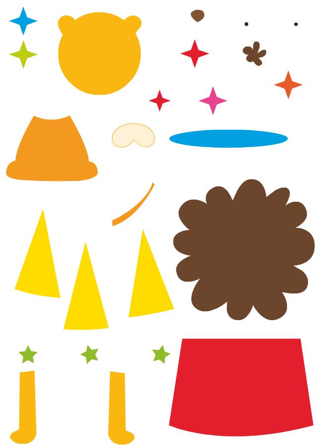 D coupage et collage d 39 un lion turbulus jeux pour enfants - Decoupage collage a imprimer ...
