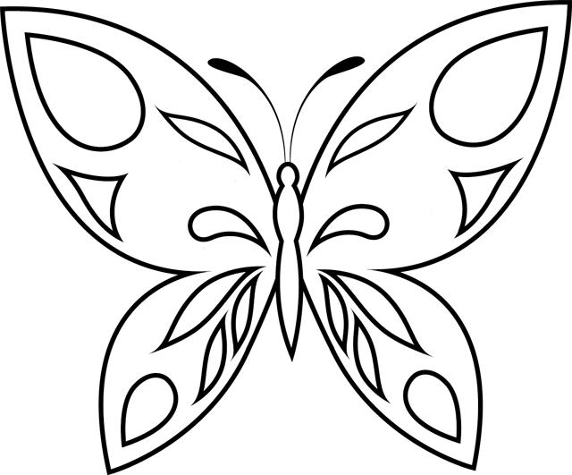 Coloriage imprimer un papillon turbulus jeux pour - Coloriage d un papillon ...