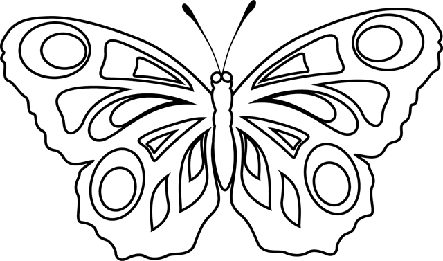 coloriage imprimer un papillon turbulus jeux pour enfants. Black Bedroom Furniture Sets. Home Design Ideas