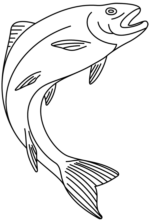 Coloriage imprimer un poisson 2 turbulus jeux - Dessin de poisson a imprimer gratuit ...