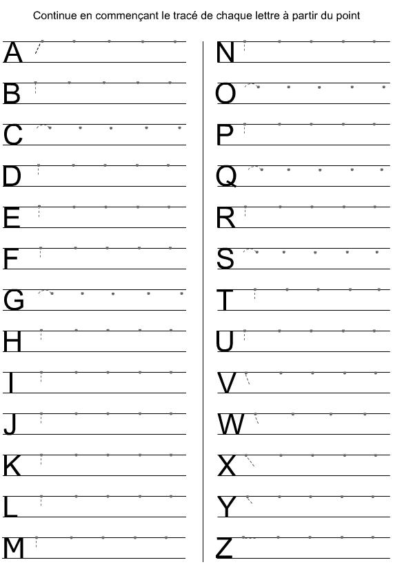 Lettres de l 39 alphabet en majuscules d 39 imprimerie - L alphabet en francais a imprimer ...