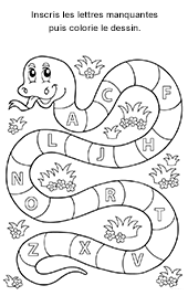 alphabet majuscules lettres bton - Lettre Majuscule A Imprimer