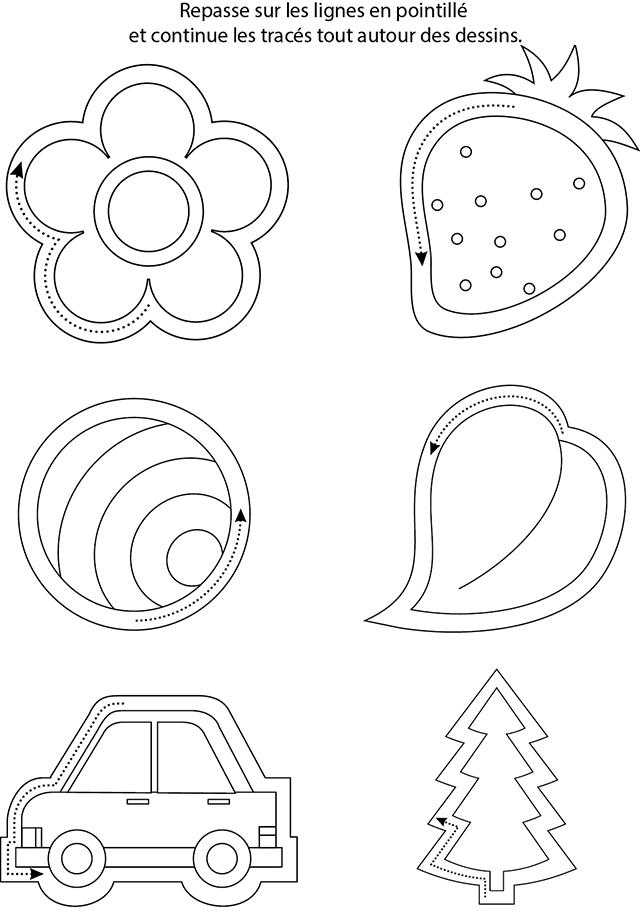 Super Graphisme à imprimer ; entourer les dessins - Turbulus, jeux pour  TD83