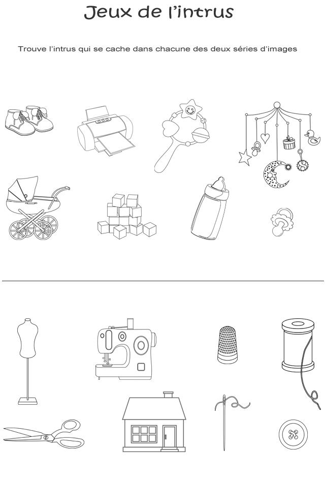 jeux de l 39 intrus imprimer page 6 turbulus jeux pour enfants. Black Bedroom Furniture Sets. Home Design Ideas