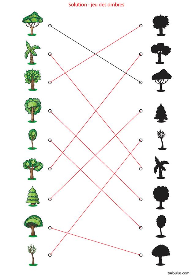 Favori Jeu des ombres pour enfants de maternelle - Turbulus, jeux pour  WS46