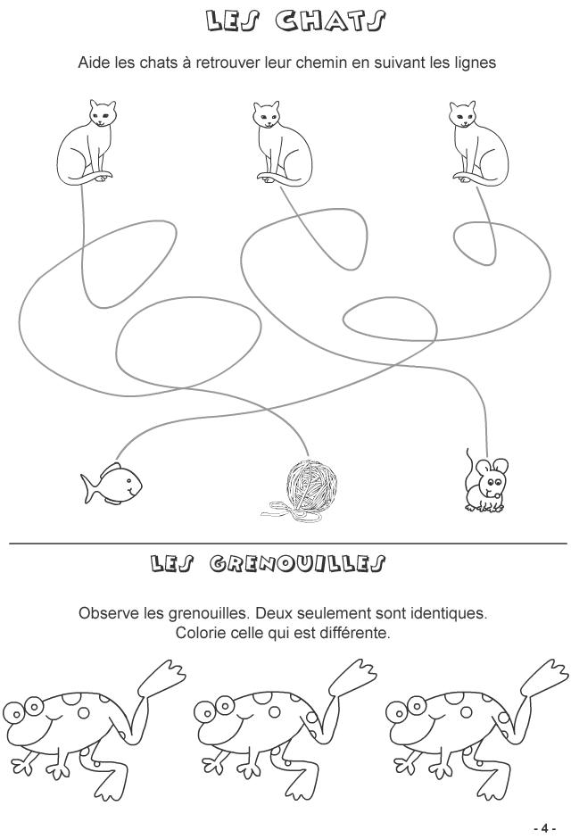 jeux imprimer pour enfants de 4 6 ans page 4 turbulus jeux pour enfants. Black Bedroom Furniture Sets. Home Design Ideas