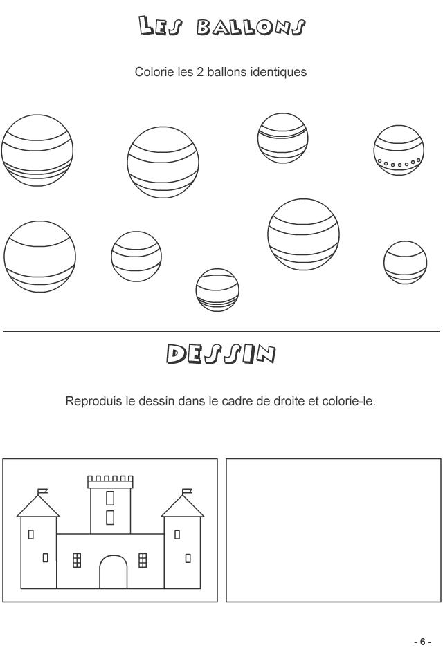 Jeux à imprimer pour enfants de 4-6 ans, page 6 - Turbulus, jeux pour enfants