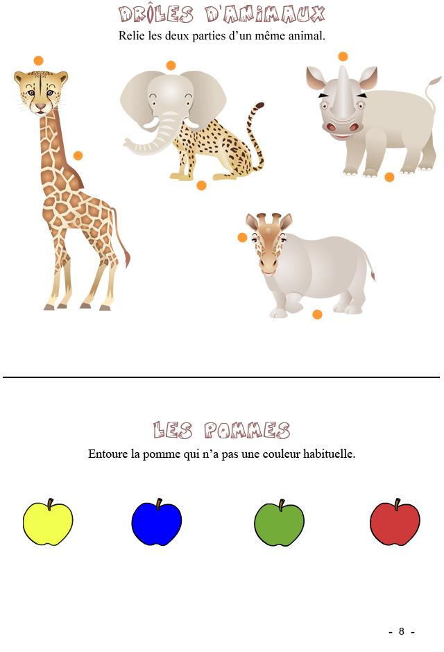 jeux imprimer pour enfants de 4 6 ans fiche 8 turbulus jeux pour enfants. Black Bedroom Furniture Sets. Home Design Ideas