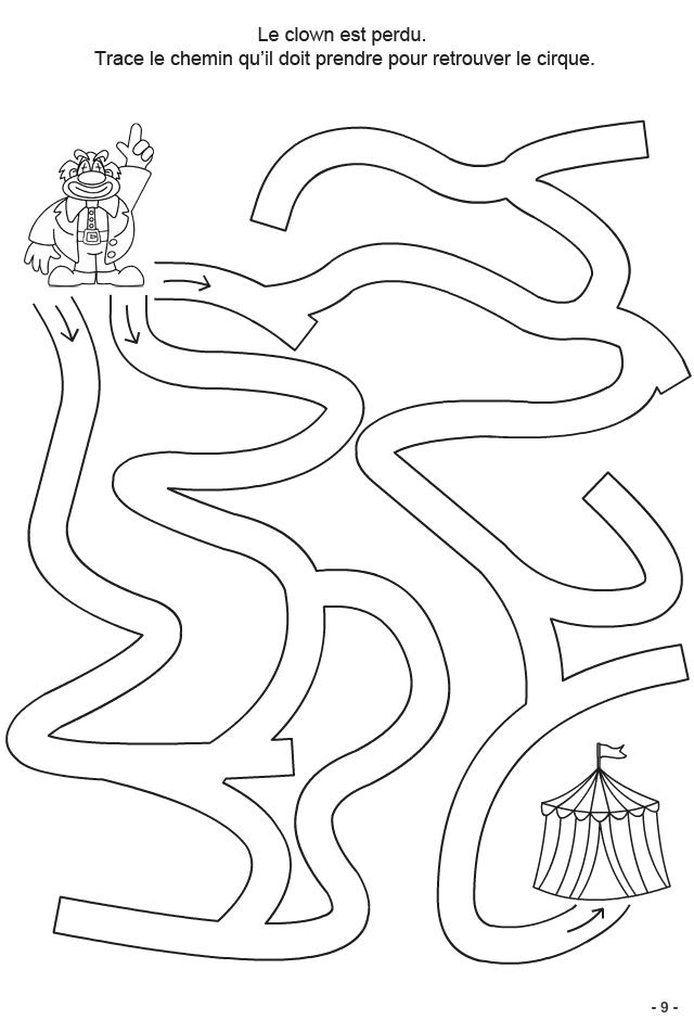 Jeux A Imprimer Pour Enfants De 4 6 Ans Fiche 9 Turbulus Jeux Pour Enfants