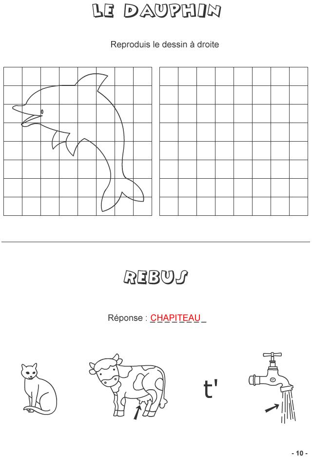 Jeux à imprimer pour enfants de 7 ans et plus - page 10 - Turbulus, jeux pour enfants