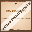 Exercices, les soustractions